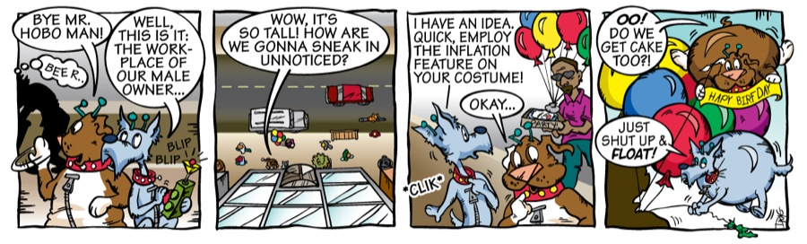 Inflatable Aliens