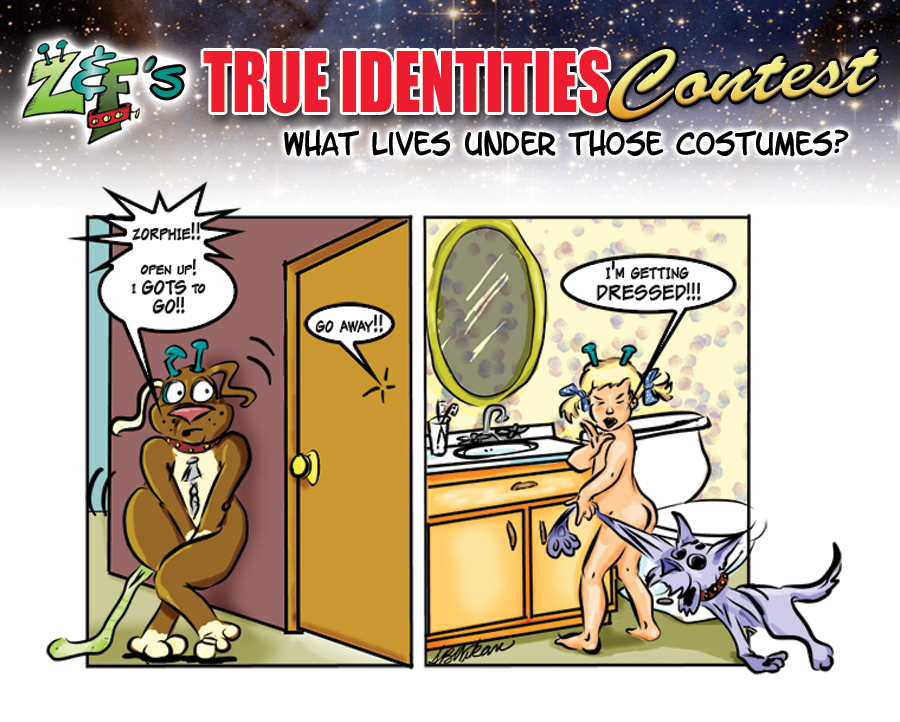 """True Identities"" Contest Winner!"
