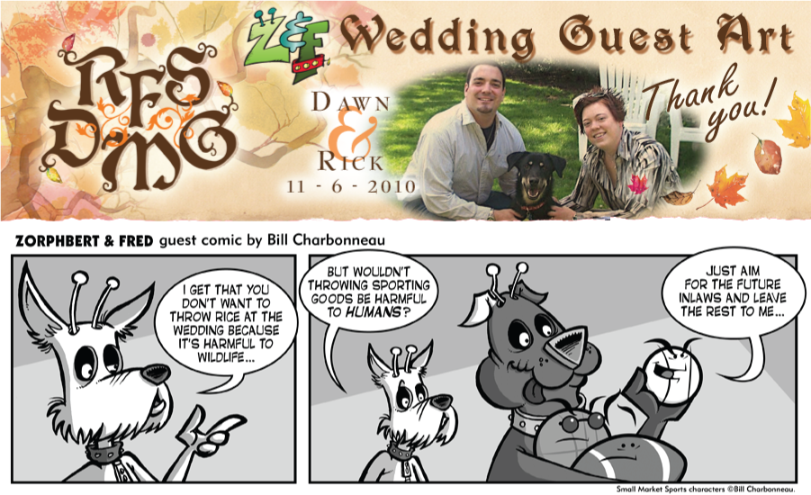 Wedding Guest Art: Bill Charbonneau