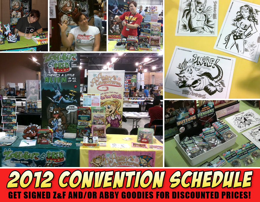 Convention Schedule 2012
