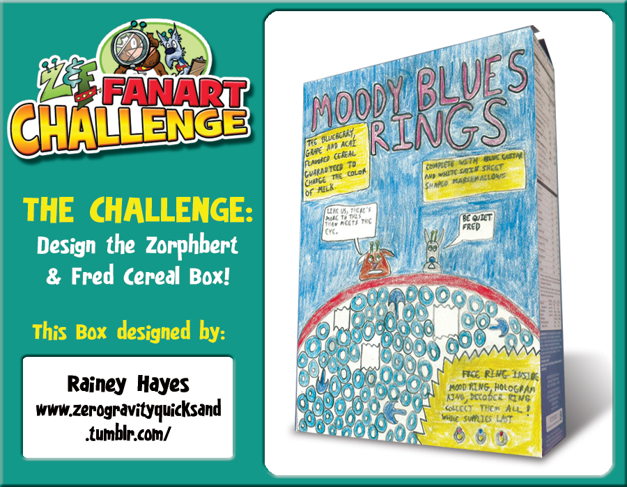Fanart Friday: Rainey Took the Challenege!